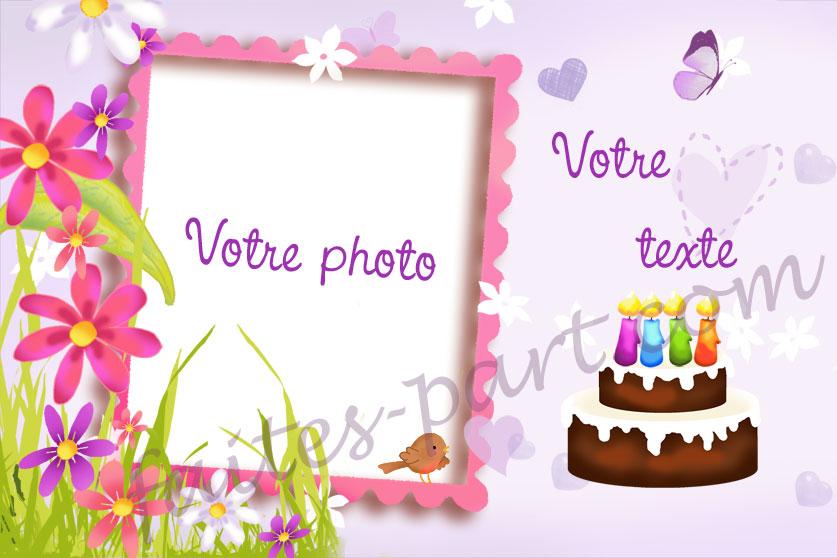 Carte Anniversaire Pour Une Femme Wizzyloremaria Web