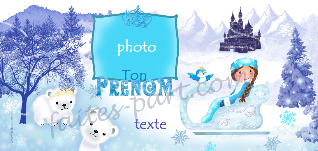 Invitation anniversaire reine des neiges carte 10x20 personnalise pour carte dinvitation anniversaire reine des neiges indiquant les zones stopboris Gallery